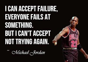 don't accept failure